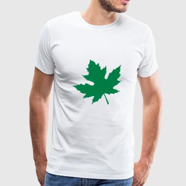 maple leaf - Men's Premium T-Shirt