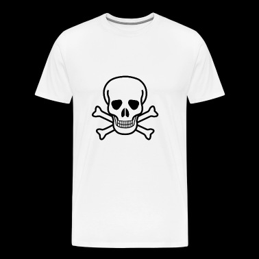 Skull & Crossbones - Men's Premium T-Shirt