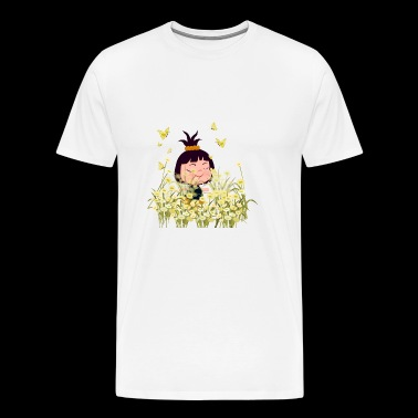 Happy Girl - Men's Premium T-Shirt