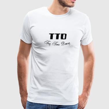 Ten Toes Down - Men's Premium T-Shirt