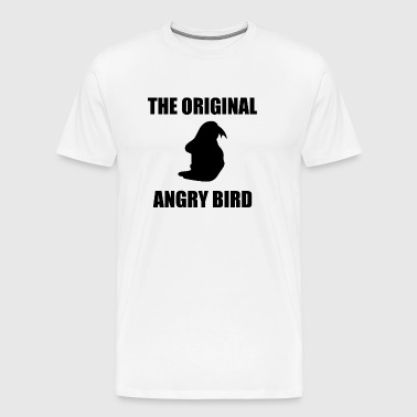 The Original Angry Bird Black - Men's Premium T-Shirt