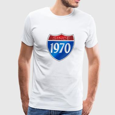 Since 1970 - Men's Premium T-Shirt