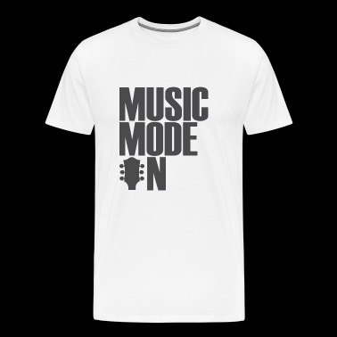 music mode on - Men's Premium T-Shirt