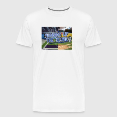 Running Up The Score Logo - Men's Premium T-Shirt
