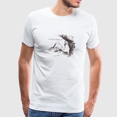 Mountain 1 - Men's Premium T-Shirt