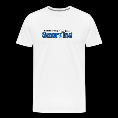 Smurfing - Men's Premium T-Shirt