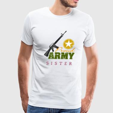 Army Proud proud army - Men's Premium T-Shirt