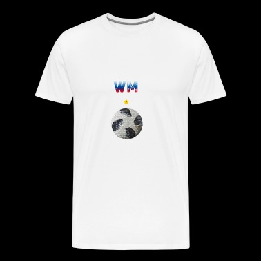 Football Russian 2018 - Men's Premium T-Shirt