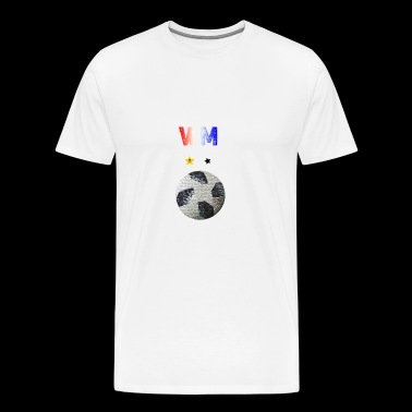 Football France 2018 - Men's Premium T-Shirt
