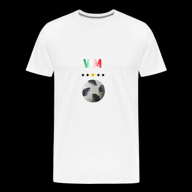 Football Italy 2018 - Men's Premium T-Shirt