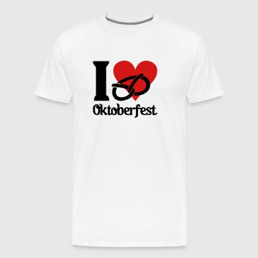 I love Oktoberfest - Men's Premium T-Shirt