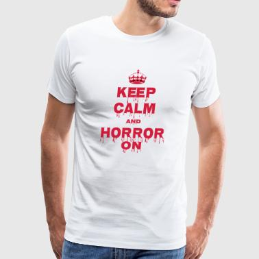 halloween t-shirt Design - Men's Premium T-Shirt