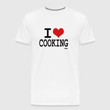 i love cooking by wam - Men's Premium T-Shirt