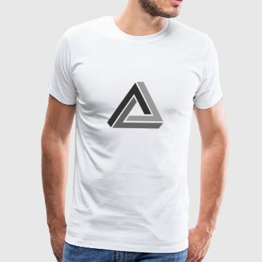 optical illusion - Men's Premium T-Shirt
