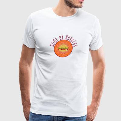 Body By Burgers - Men's Premium T-Shirt