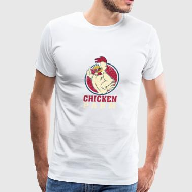 Funny Costume For Chicken Lover. Shirt For Grandma - Men's Premium T-Shirt