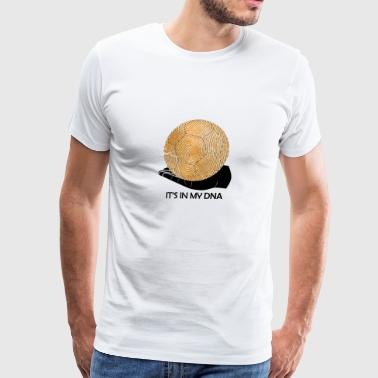 Handball It's in my DNA gift handball fan - Men's Premium T-Shirt