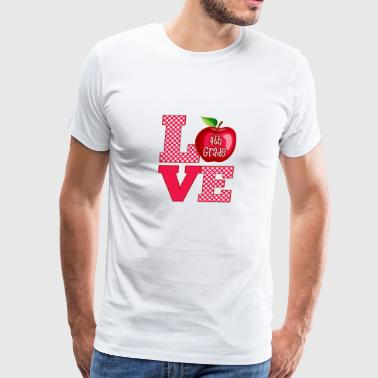 Love Fourth Grade - Men's Premium T-Shirt