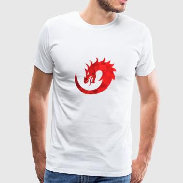 Cool dragon tattoo gift present idea - Men's Premium T-Shirt
