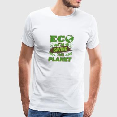 Earth Day Saving The Planet - Men's Premium T-Shirt