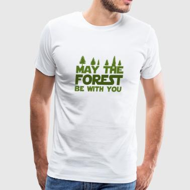 May The Forest T-Shirt - Men's Premium T-Shirt