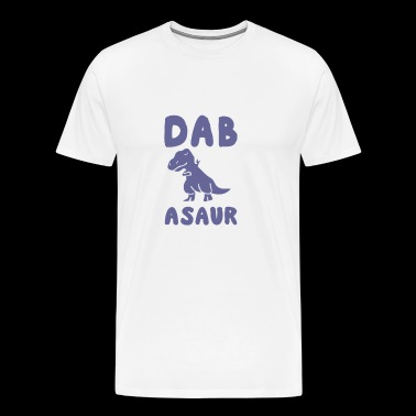 Cute Animal Dabbing - Dabasaur - Men's Premium T-Shirt