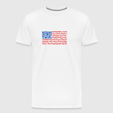 Weapon Flag - Men's Premium T-Shirt