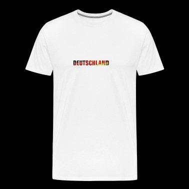 Deutschland flagge - Men's Premium T-Shirt