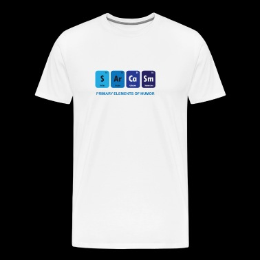 Shop funny periodic table element joke t gifts online spreadshirt funny sarcasm t shirt periodic table elements men39s urtaz Choice Image