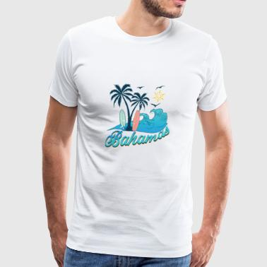 Bahamas holiday sun beach - Men's Premium T-Shirt
