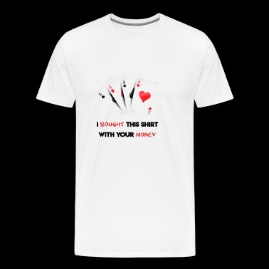 Poker Tshirt Gift Design - Men's Premium T-Shirt