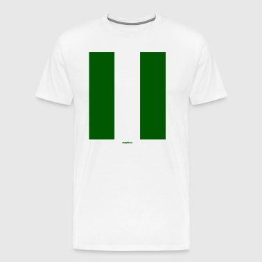 Nigerian Flag Long - Men's Premium T-Shirt