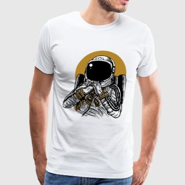 Space Dee Jay - Men's Premium T-Shirt