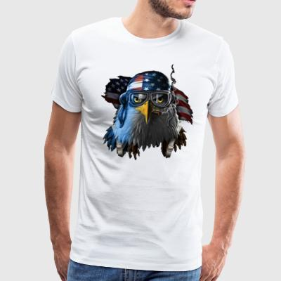 Eagle of United States - Men's Premium T-Shirt