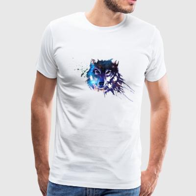 Space-Wolf - Men's Premium T-Shirt