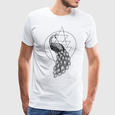 The peacock - Men's Premium T-Shirt