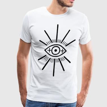 The big eye - Men's Premium T-Shirt