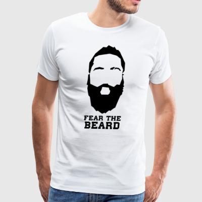 Fear The Beard New James Harden Houston - Men's Premium T-Shirt