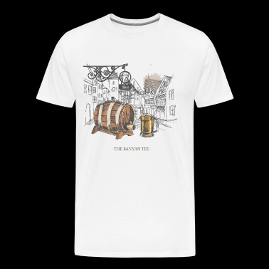 Retro Beer Bar - Men's Premium T-Shirt
