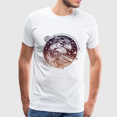 Head of Eagle - Men's Premium T-Shirt