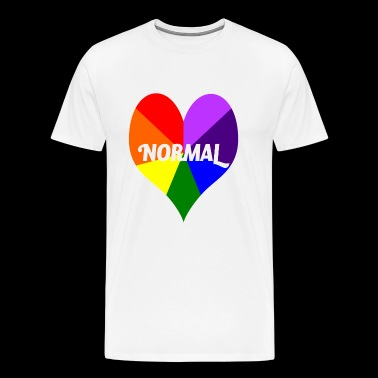 I Heart Gay Pride T-Shirt - Men's Premium T-Shirt
