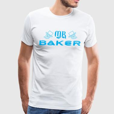Mr Baker - Men's Premium T-Shirt