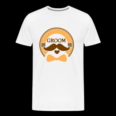 Bachelorparty Groom - Men's Premium T-Shirt