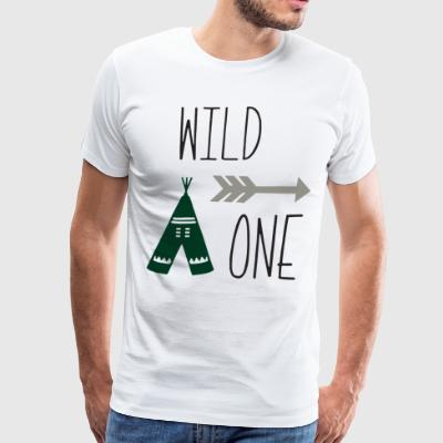 Wild One 1st Birthday First Birthday Outfit - Men's Premium T-Shirt