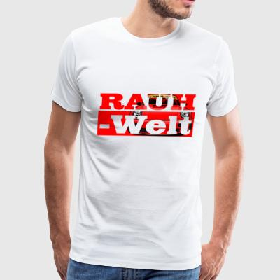 Red RWB typo - Men's Premium T-Shirt
