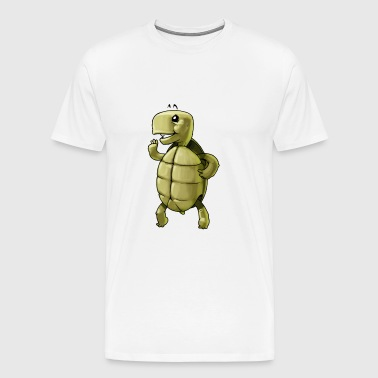 turtle tortoise animal pet - Men's Premium T-Shirt