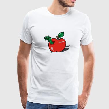 apple burster - Men's Premium T-Shirt