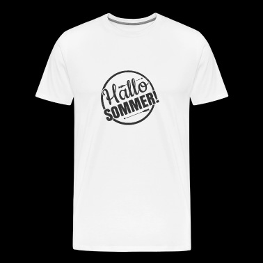 Hallo Sommer - Men's Premium T-Shirt