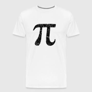 Letter Number Pi (Ancient Black) - Men's Premium T-Shirt