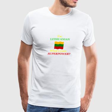 Lithuanian Pride T-Shirt - Men's Premium T-Shirt